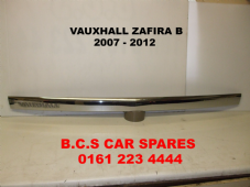 VAUXHALL ZAFIRA B  CHROME  BOOT / TAILGATE   STRIP    2008 - 2013   USED
